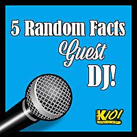 5 Random Facts Guest DJ Website